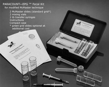 Paracount-EPG™ Faecal Analysis Kit with McMaster-Type Counting Slides