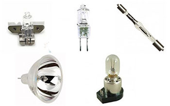 Microscope and imaging lamps and bulbs