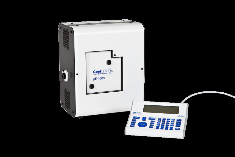pE – 4000 white CoolLED Illumination System